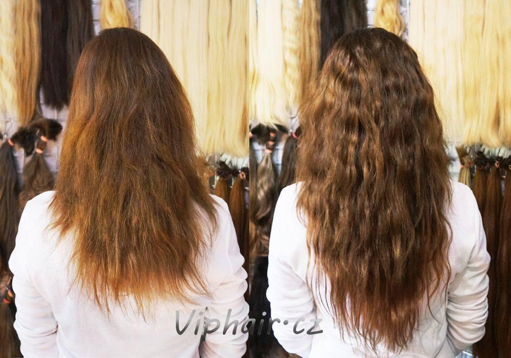 prodlužování vlasů keratin