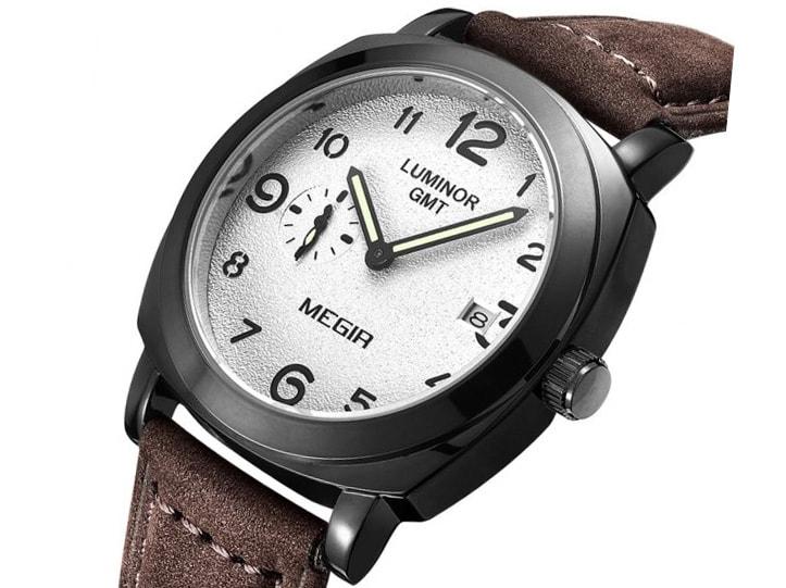 VIPhair.cz - Originální pánské hodinky MEGIR - brown - Hodinky ... 04cd14b8b4