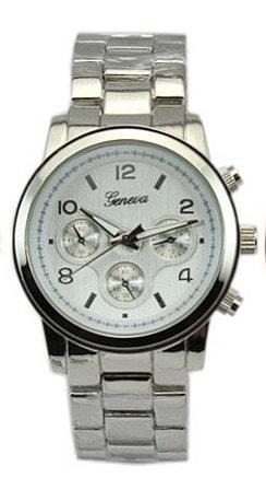 VIPhair.cz - Luxusní dámské hodinky Geneva - silver II. jakost - II ... 0b0ea3b069
