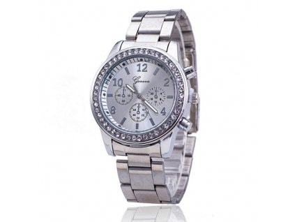 VIPhair.cz - Luxusní hodinky s krystaly Swarovski Elements- silver II ... 7a364a9a2d