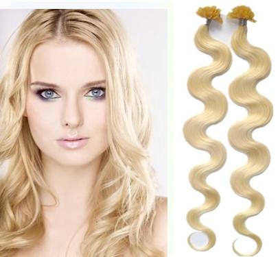 VIPhair.cz - KERATIN- 100% Lidské vlasy k prodloužení REMY ab7d4b251e2