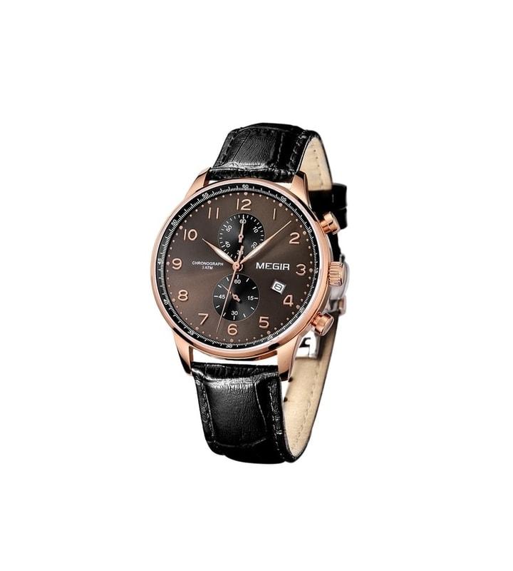 9ceacb8ab03 VIPhair.cz - Pánské elegantní hodinky pro každého MEGIR TOKIO - gold ...
