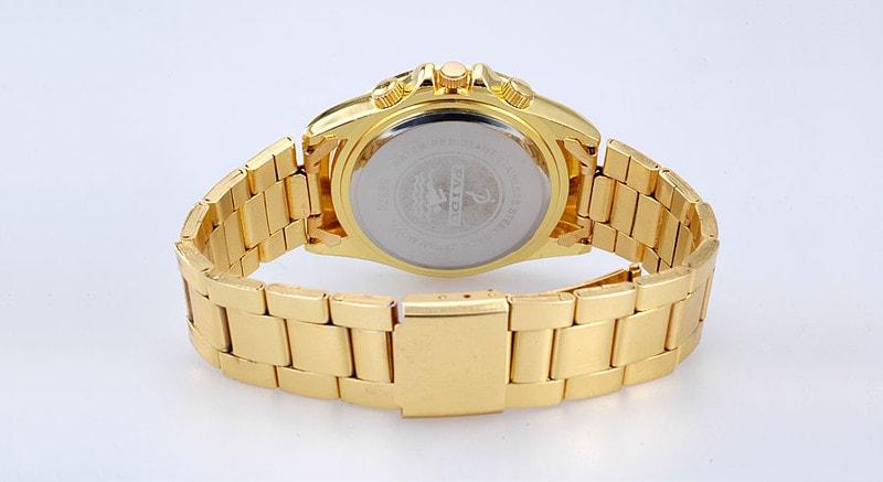 VIPhair.cz - Luxusní hodinky s krystaly Swarovski Elements - zlaté ... c065e51e62