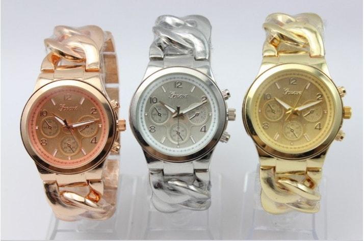 VIPhair.cz - Luxusní dámské hodinky Geneva- výběr 4 barev - Hodinky ... c2ca22363e