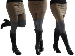 4077428a4ba VIPhair.cz - Luxusní legíny se sukní - vzor 13 - Legíny