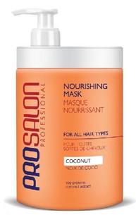 Vyživující maska pro poškozené vlasy s kokosem ProSalon 1000ml