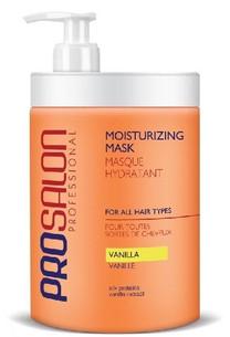 Hydratační maska na suché vlasy s extraktem z vanilky ProSalon 1000ml
