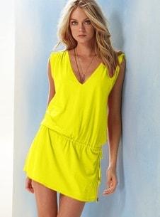 e3e4f2485d6 VIPhair.cz - Moderní dámské letní šaty - yellow - Sukně